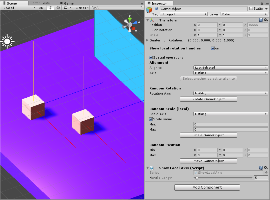 Unity 3D Tutorial - Custom Transform Inspector